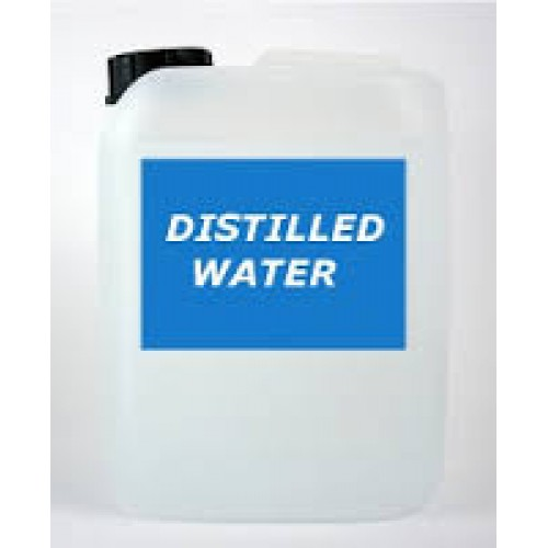 Distilled Water (Liquid Content Only) 50Litres